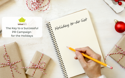 The Key to a Successful PR Campaign for the Holidays
